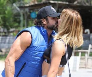 foto: Las primeras fotos de Flor Vigna y Luciano Castro a los besos