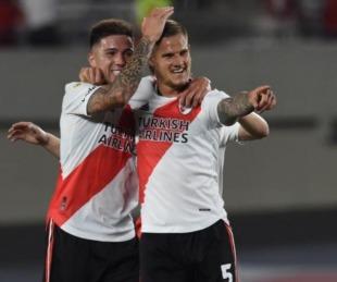 foto: River goleó a Argentinos en el Monumental y dio otro paso hacía el título