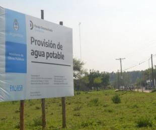 foto: Nación ejecuta en Corrientes obras de agua potable por $104 millones