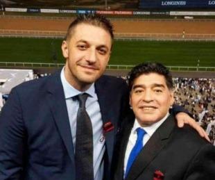 foto: Morla declaró que la familia Maradona eligió la casa donde estuvo inte