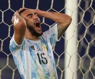 foto: Nicolás González dio positivo de Covid-19 y es duda para la selección